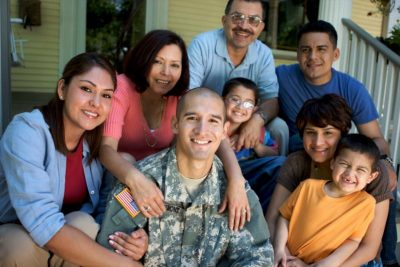 multiple generations military family