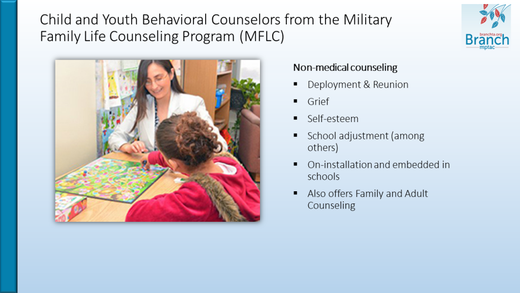 screenshot of e-learning module slide for the Mental Health module